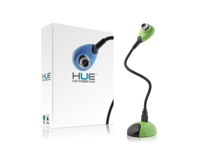 HUE HD, fotocamera per documenti USB e webcam, verde