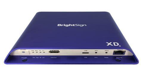 Lecteur multimédia de signalisation numérique BrightSign XD1034