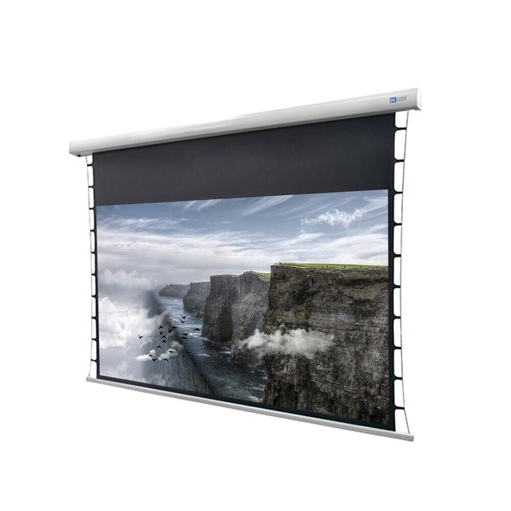 DELUXX Cinema Motorleinwand Tension 221 x 124cm, 100