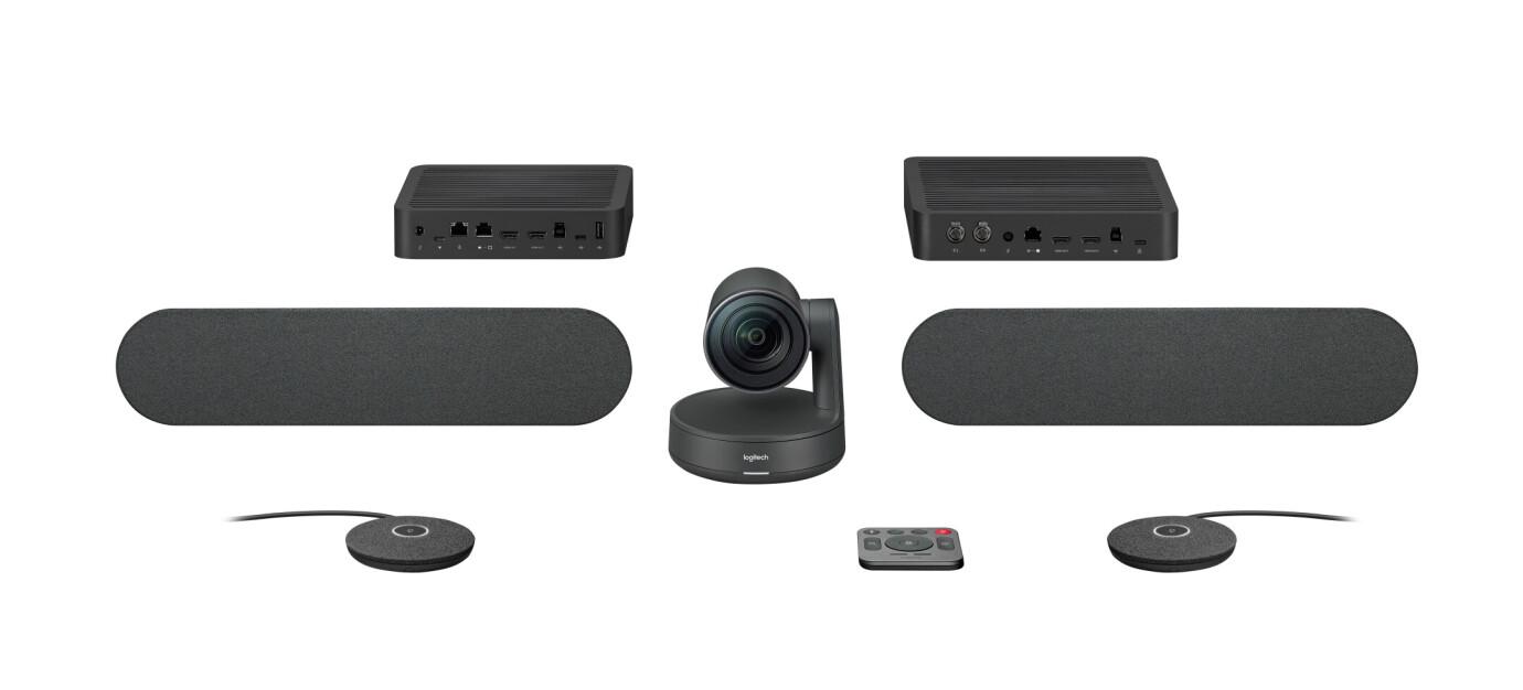 Logitech Rally Plus 4K Video Conference system