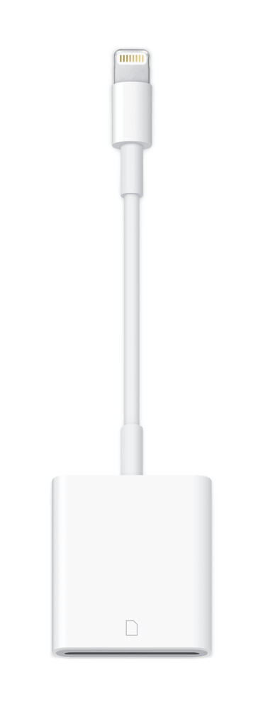 Apple Lightning auf SD Card Camera Reader