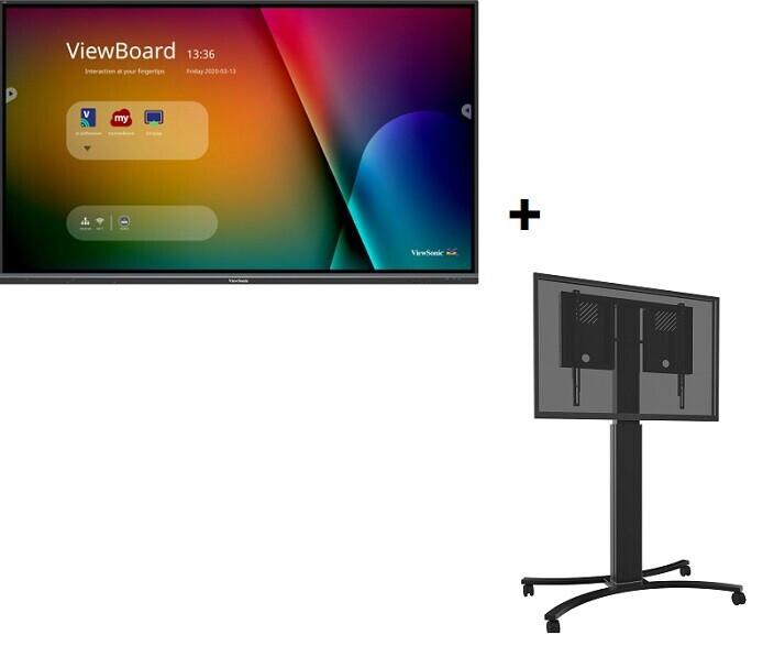 ViewSonic IFP8650-3 inc. celexon Expert Adjust-4286MB - 70 cm