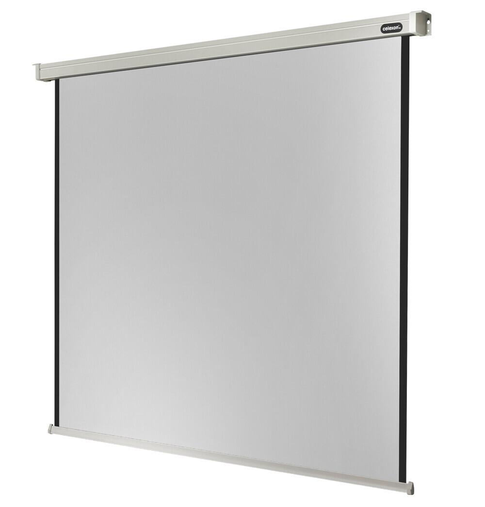 Ecran de projection celexon Motorisé PRO 300 x 300 cm