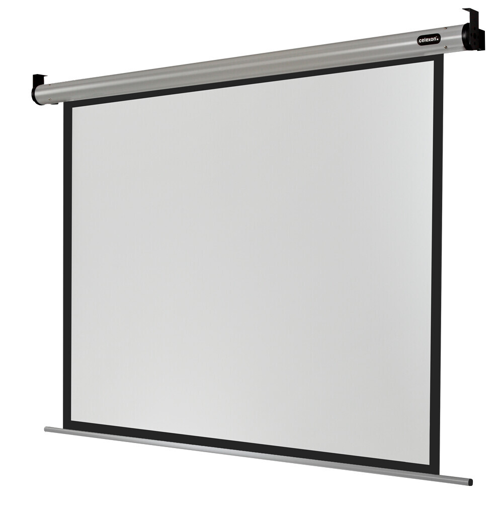 Pantalla Electrica celexon HomeCinema de 240 x 180 cm
