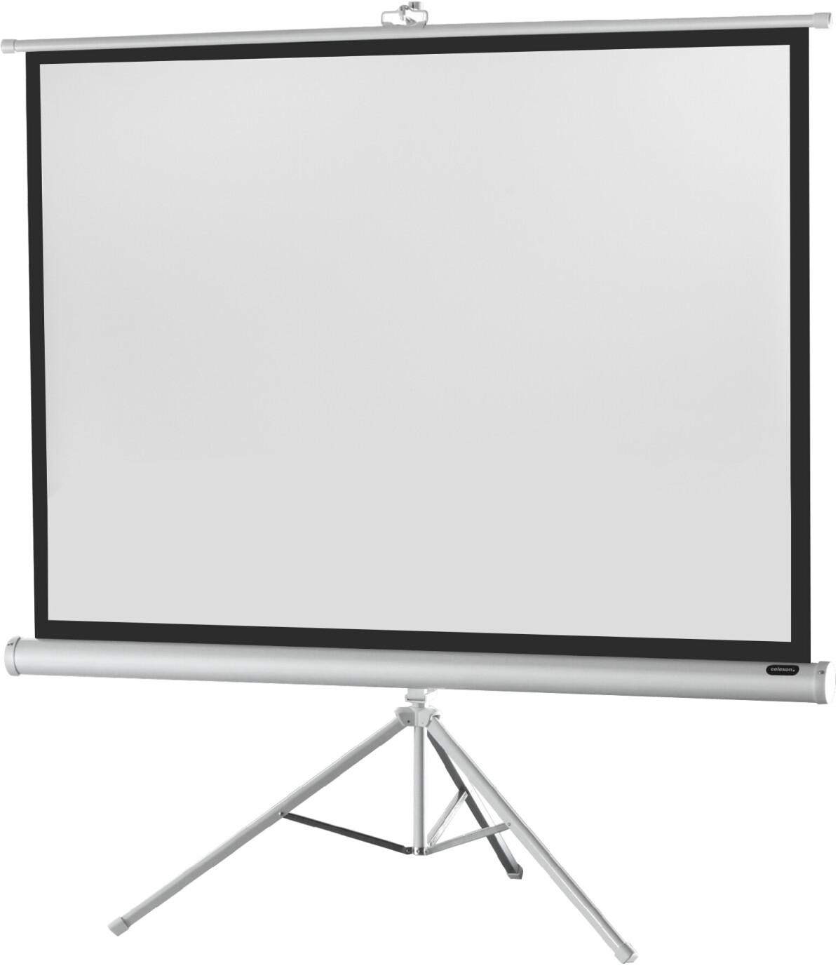 celexon Stativleinwand Economy 133 x 100 cm - White Edition