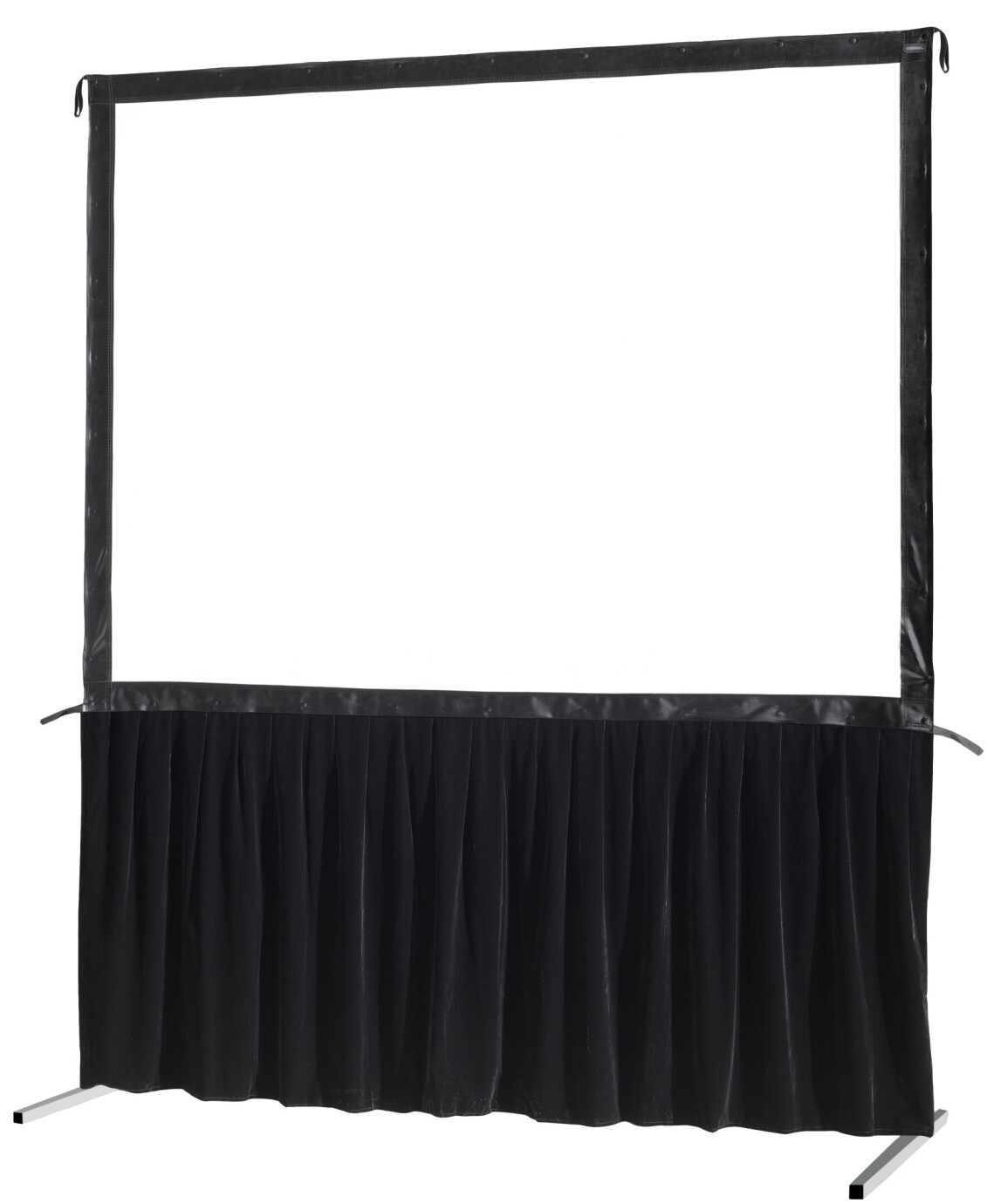 celexon Vorhangset 1-seitig für Faltrahmenleinwand Mobil Expert 305 x 172 cm