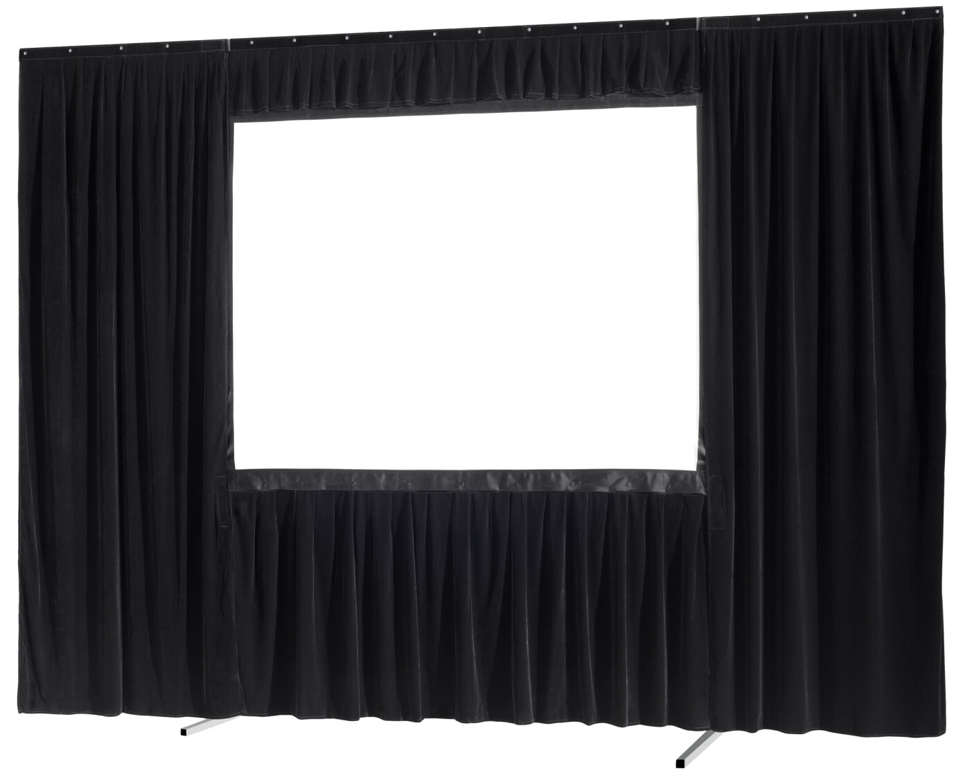 celexon 4-Piece Drape Surround for Folding Frame Mobile Expert - 244 x 137cm