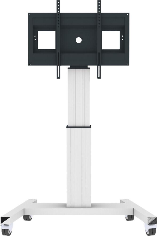 celexon Professional Plus elektrisch höhenverstellbarer Display-Rollwagen Adjust-42100M