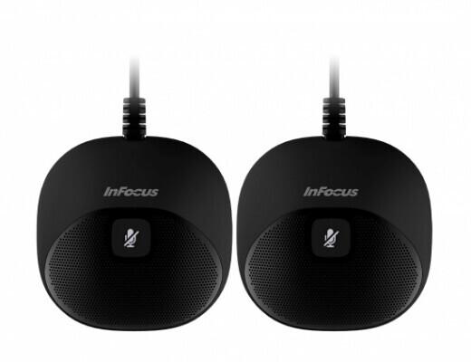 InFocus Thunder speakerphone Additions (2 Additional Microphones)