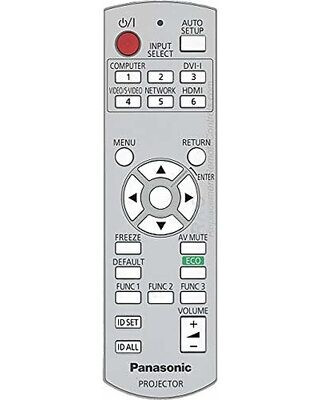 Panasonic replacement remote control for PT-FW430E