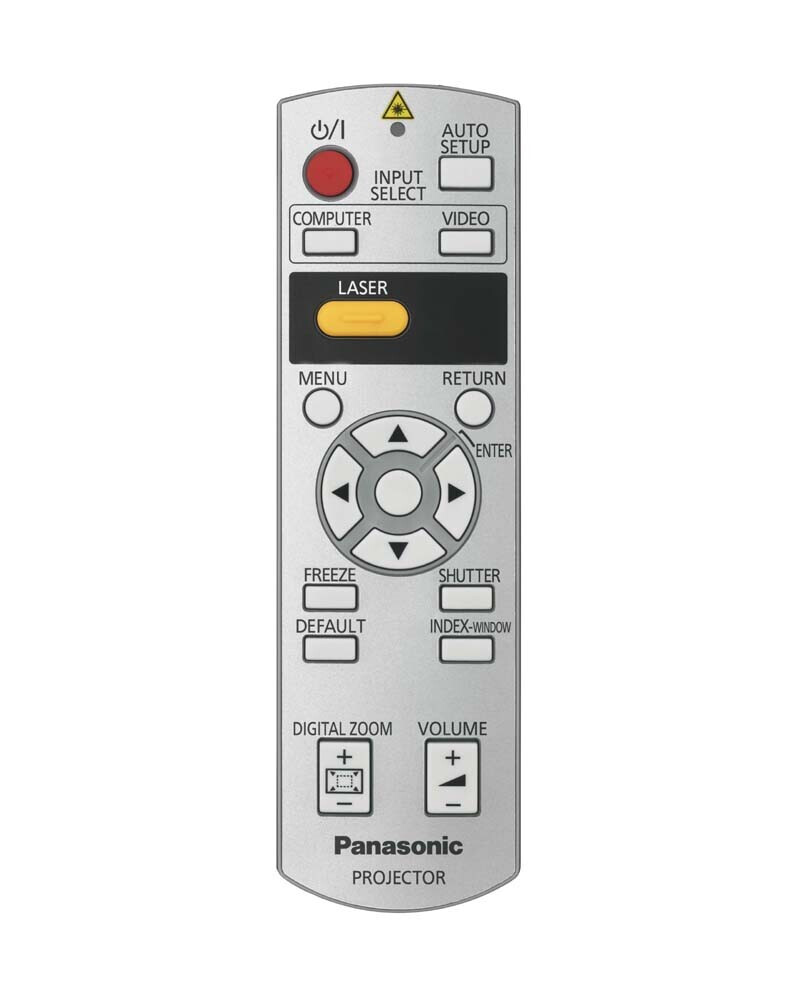 Panasonic afstandbediening voor PT-AH1000E