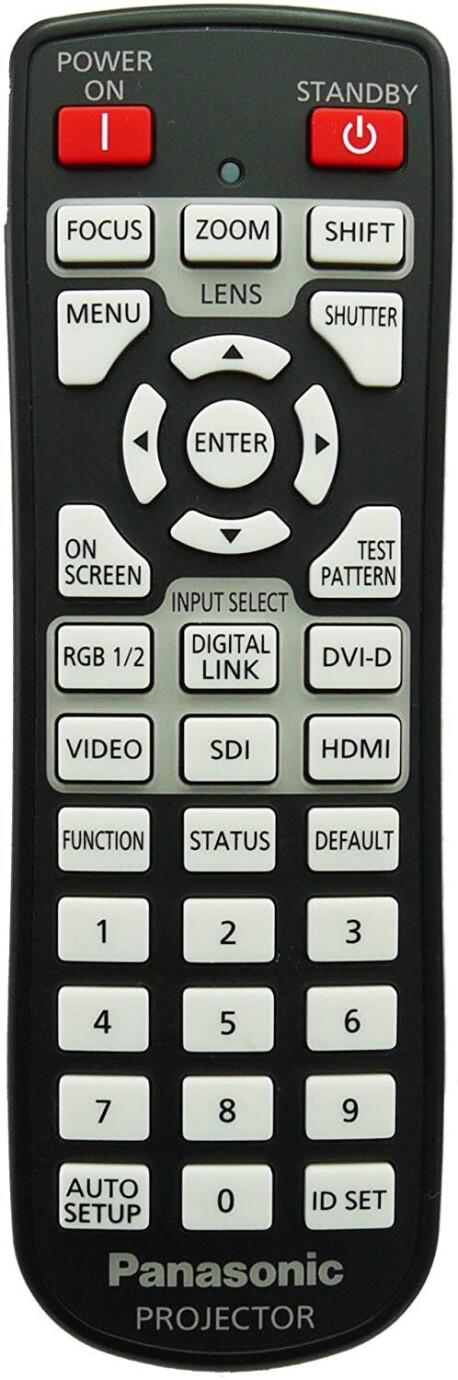 Panasonic Fernbedienung für PT-DZ870E
