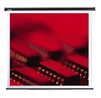 Reflecta Federroller Leinwand 153 x 153 cm