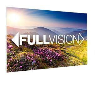 Projecta Rahmenleinwand FullVision, 240 x 150 cm, 16:10, mattweiss