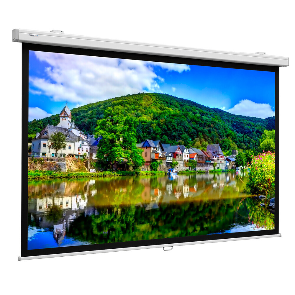 Projecta Rollo Leinwand Projecta ProScreen CSR, 240 x 154 cm, 16:10, Mattweiß