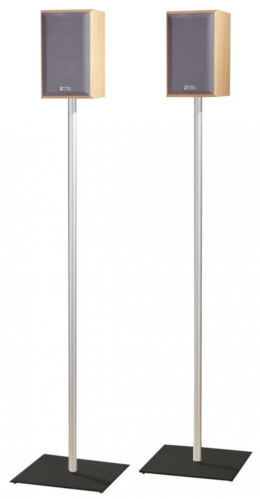 VCM 2x Surroundstands Sulivo Maxi Schwarzglas 107 cm