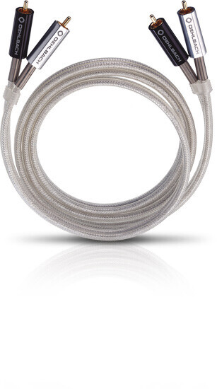 Oehlbach Silver Express NF-Audio-Cinchkabel, 1m