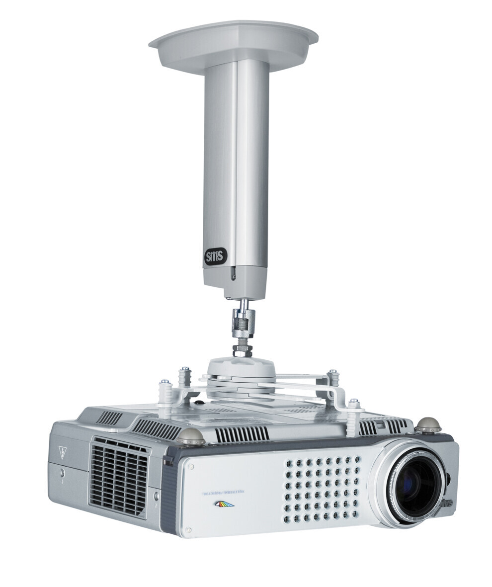 SMS ceiling mount CL F250 silver (incl Unislide)