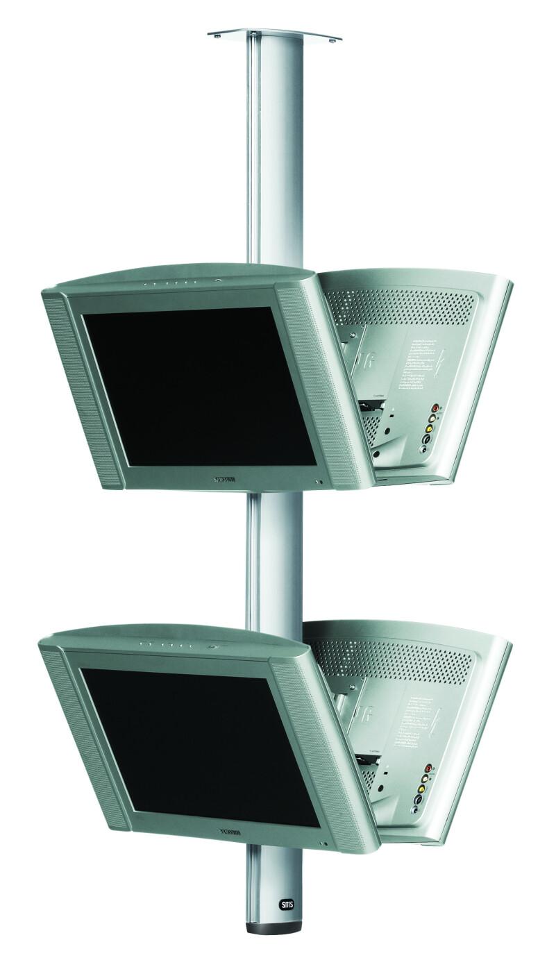 SMS Flatscreendeckenhalterung CL ST1200 schwarz