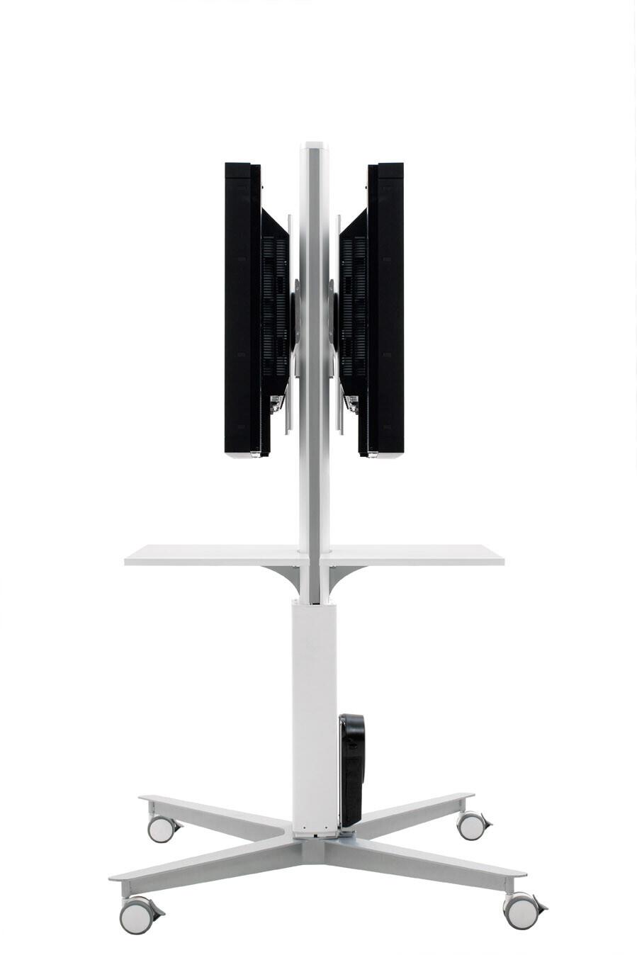 SMS Flatscreenwagen X FH MD1955 Double weiß