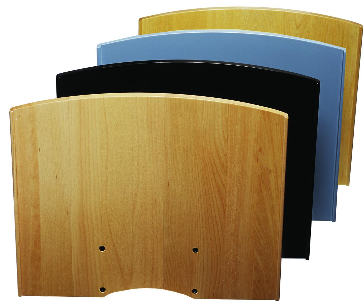SMS flatscreen shelf H series - black