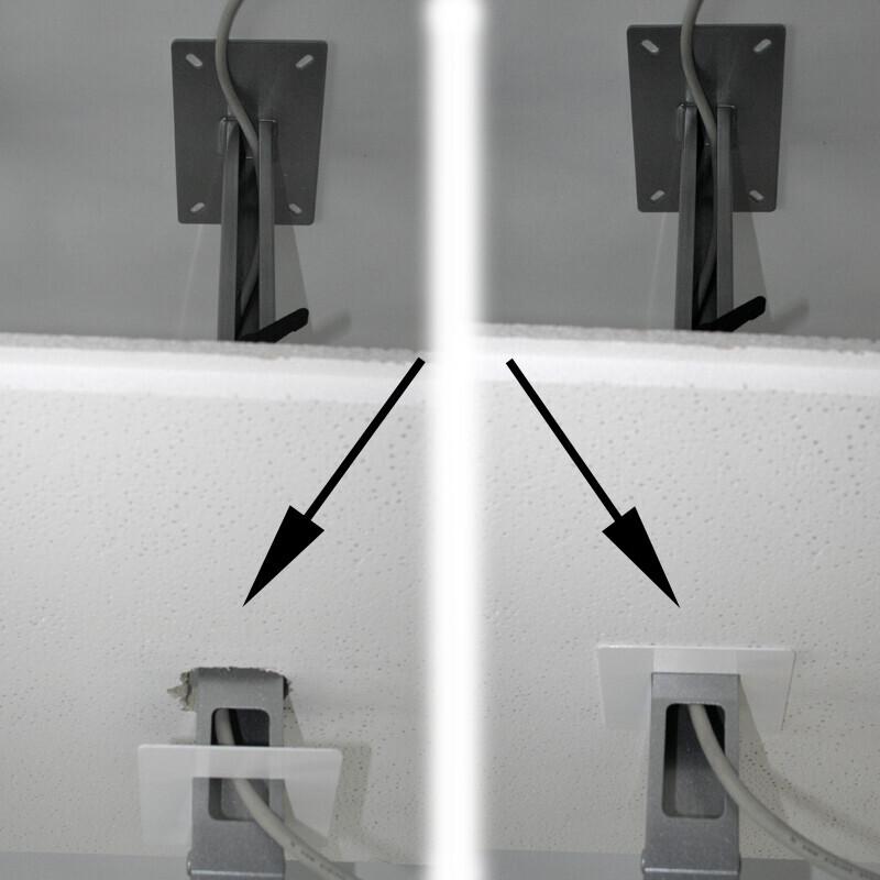 PeTa roseta para cubrir el recorte del techo, diámetro 85 mm, negro