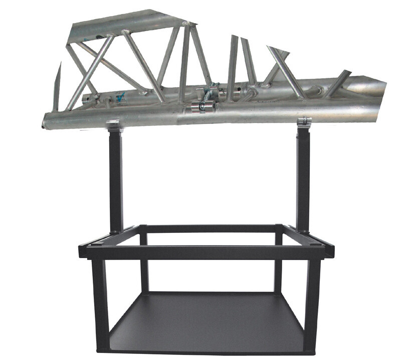 PeTa cage mount for large projectors, adjustable 40-70cm, white