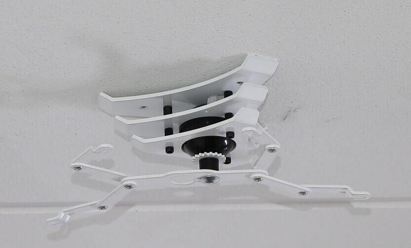 PeTa Deckenhalterung Design Home, Stahl pulverbesch. 11cm