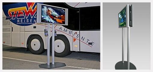 PeTa - Travel-stand, walkable display stand