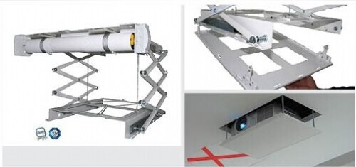 PeTa Soporte de techo motorizado ultra plano 800