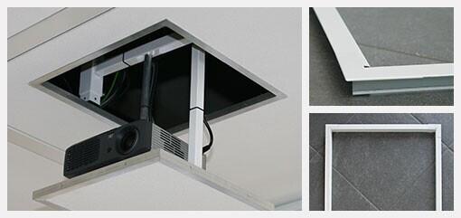 PeTa marco para techo para soportes motorizados