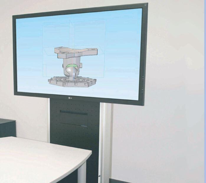PeTa Carro de monitor de convención (hasta 65, máx. 50 kg)