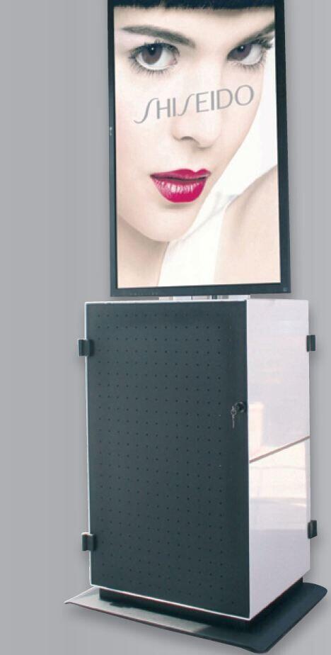 PeTa Konventionmobil SERVE für Portraitformat 60 Zoll