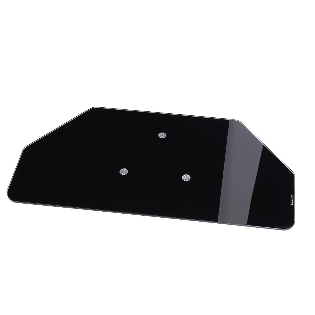 Hama LCD-/Plasma-TV-draaiplateau, Glas, zwart