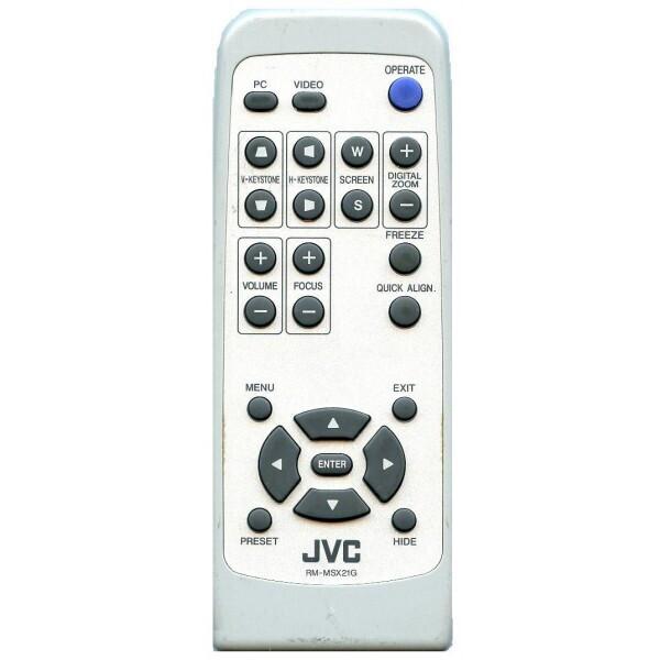 Ersättningskontroll för JVC DLA SX21
