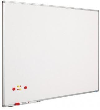 SMIT Visual Weißwandtafel Softline aluProf 8mm lackierter Stahl 90x180cm