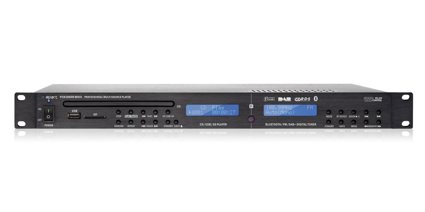APart PCR3000R - Profesional DAB / RDS y reproductor de CD/MP3