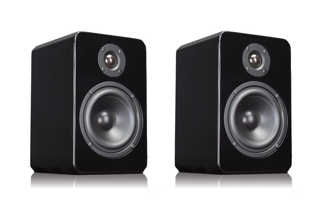 APart VINCI4-16 2-Wege Hi-Fi-Lautsprecher mit 16 Ohm, schwarz