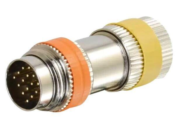 RapidRun Multi-Format (Orange) Runner to PC (Yellow) 15-pin Din Adapter