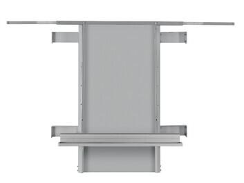Legamaster Wandmontage, höhenverstellbar (Easyspring) für 41-70kg