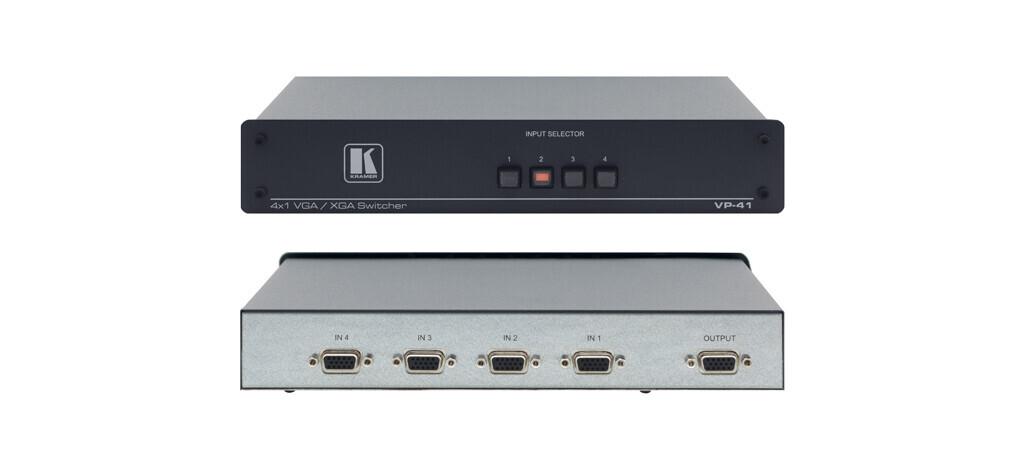 Kramer VP-41 4x1 VGA/UXGA-Umschalter