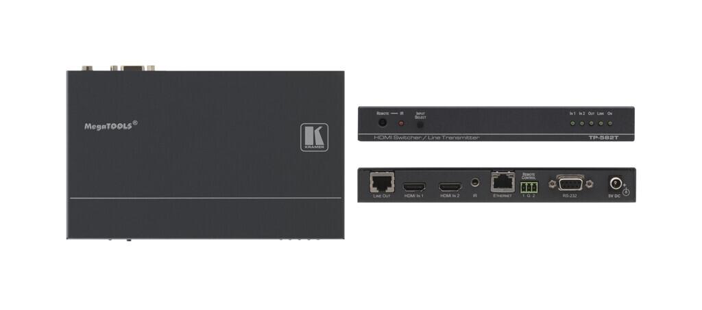 Kramer TP-582T HDMI-HDBaseT Umschalter (2x HDMI auf 1x HDBaseT)