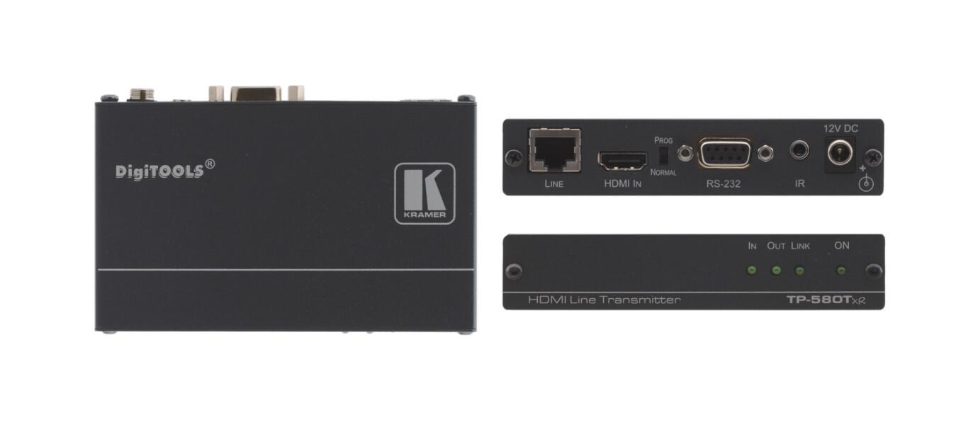 Kramer TP-580TXR HDMI-HDBaseT Sender / Transmitter (1x HDMI auf 1x HDBaseT)