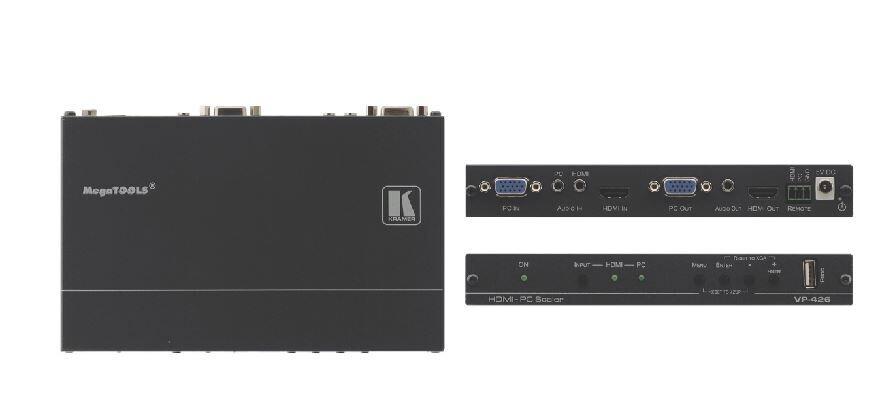 Kramer VP-426 Digitalscaler für HDMI und Computergrafik