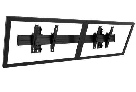 Chief LWM2X1U Menu Board Display-Wandhalterung, Querformat, Schwarz (40