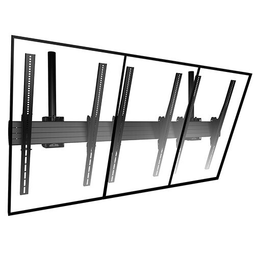 Chief 3x1 Portrait Videowall Deckenhalterung, LCM3x1UP , 42