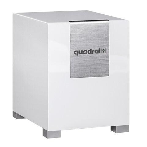 quadral Qube 10 aktiv - weiss