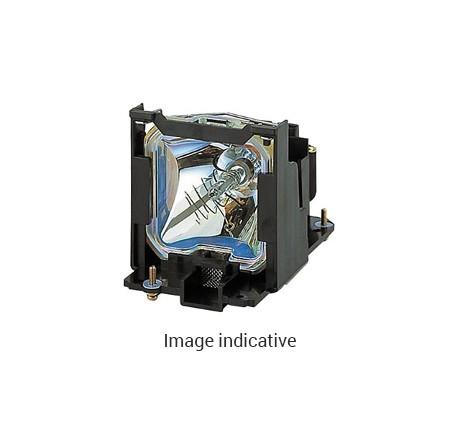 Lampe de rechange Toshiba pour TLP-620, TLP-S200, TLP-S201, TLP-T400, TLP-T400U, TLP-T401, TLP-T401U, TLP-T500, TLP-T500U, TLP-T501, TLP-T501U, TLP-T600, TLP-T700 - Module Compatible (remplace: TLPLW1)