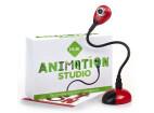 HUE Animation Studio Komplett Stop-Motion-Animation-Kit med Kamera för Windows-PCs & Mac, röd