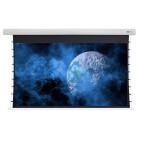 """Écran de projection motorisé tensionné à haut contraste DELUXX Cinema 243 x 136cm, 110"""" - DARKVISION"""